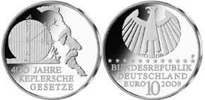 10 EUR Gedenkmünze Johannes Kepler