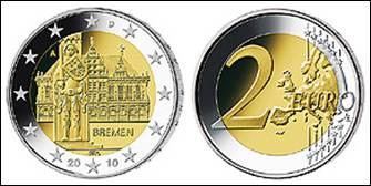 2-Euro-Gedenmünze Bremen